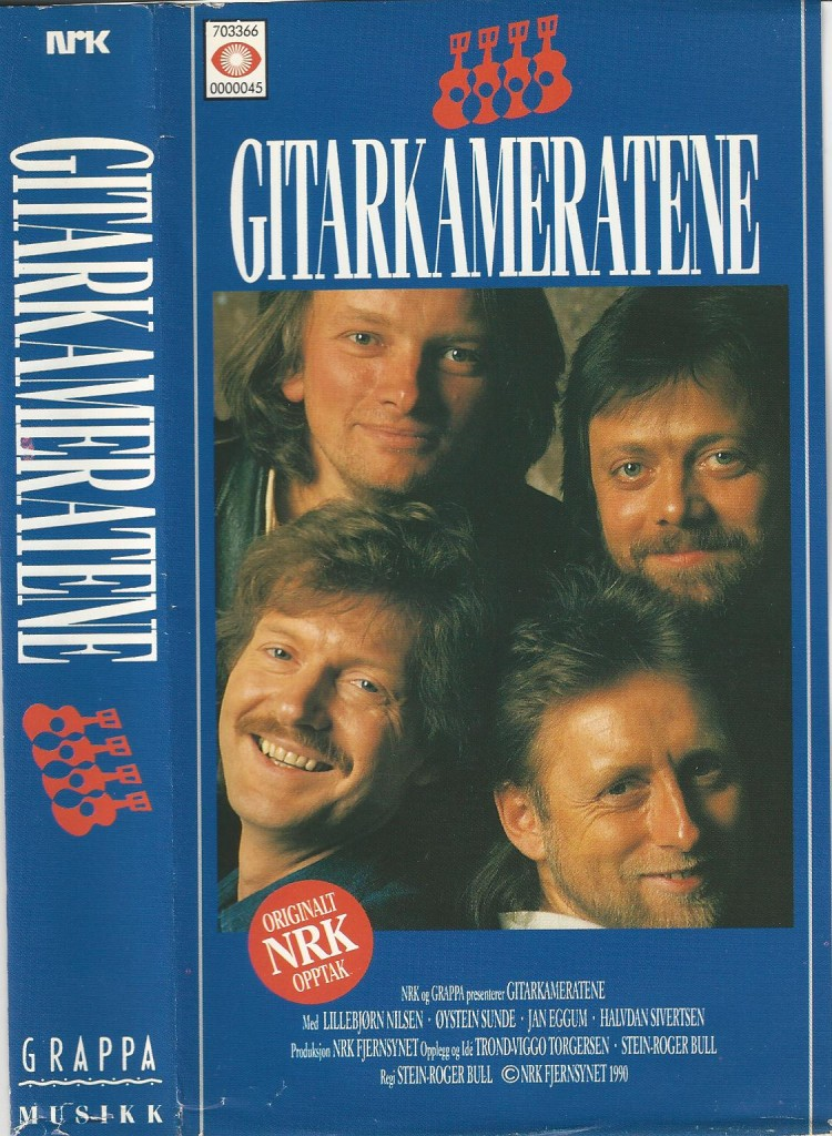 Gitarkameratene VHS 1990